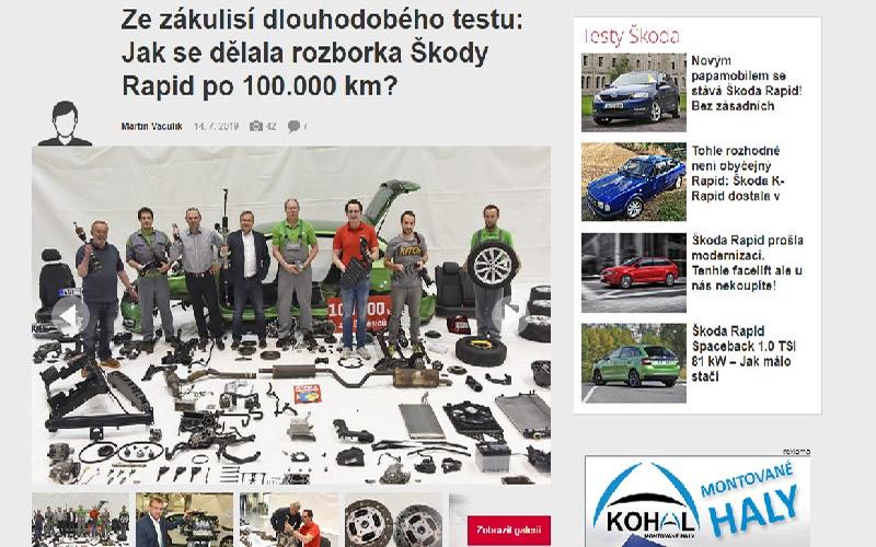 Michovský Tool se objevil ve Světě motorů